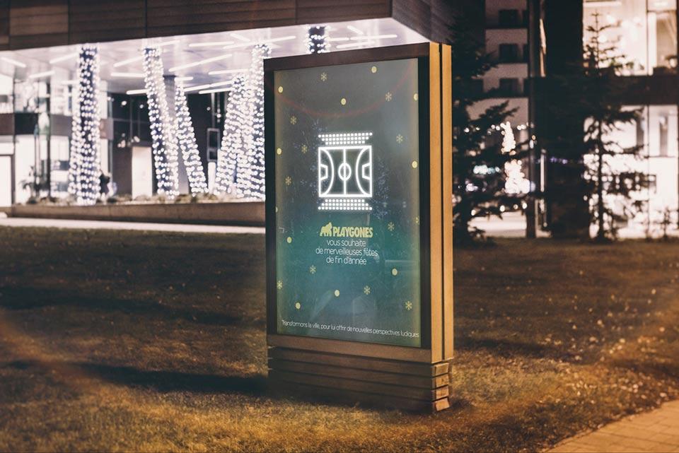 Playgones propose une campagne digitale créative pour ses voeux