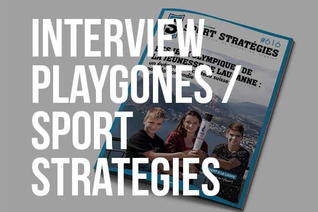 IntervIew Playgones - Sport Strategies