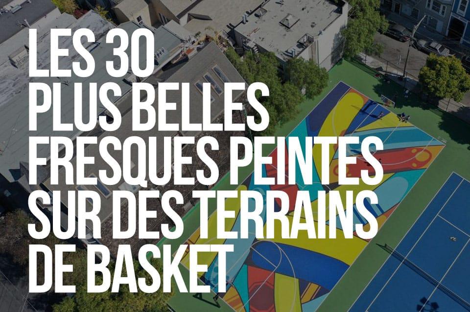Les 30 plus belles fresques peintes sur des terrains de basket